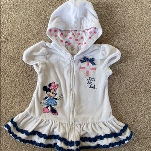 12-18m Disney baby terry bathing suit cover up